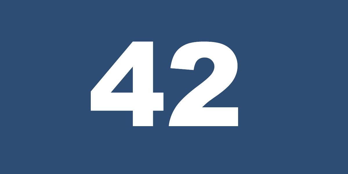 """264ee743a Jackie Robinson: """"42"""" Made an Impact » MBU Timeline"""