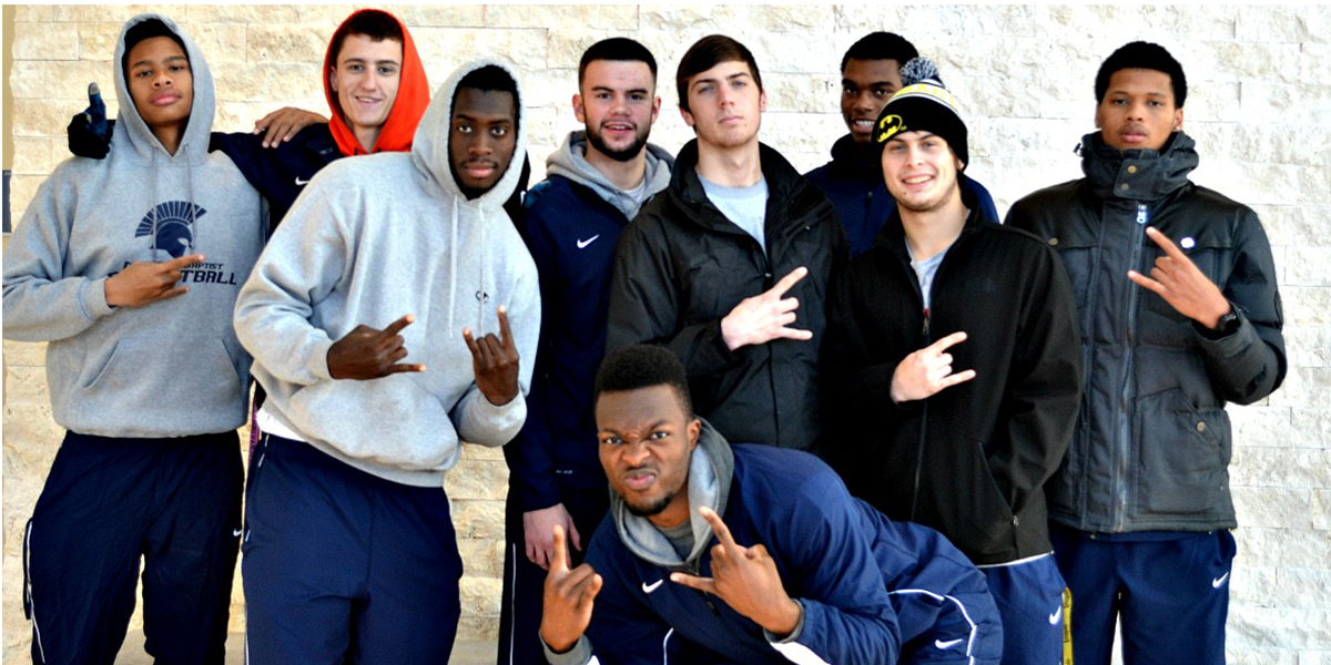 MBU players who are from Houston.